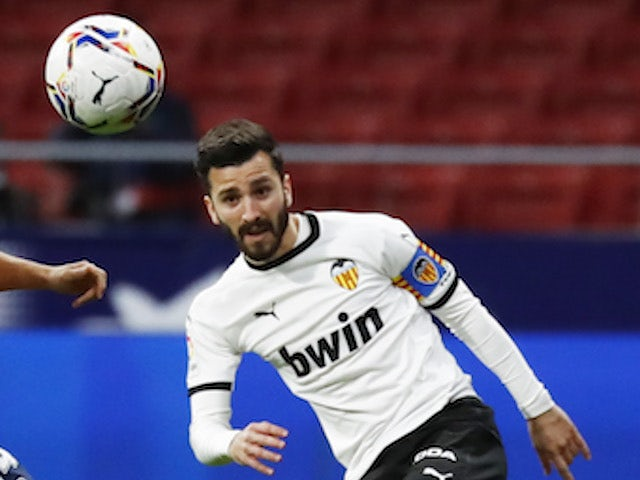Valencia defender Jose Gaya pictured on January 24, 2021