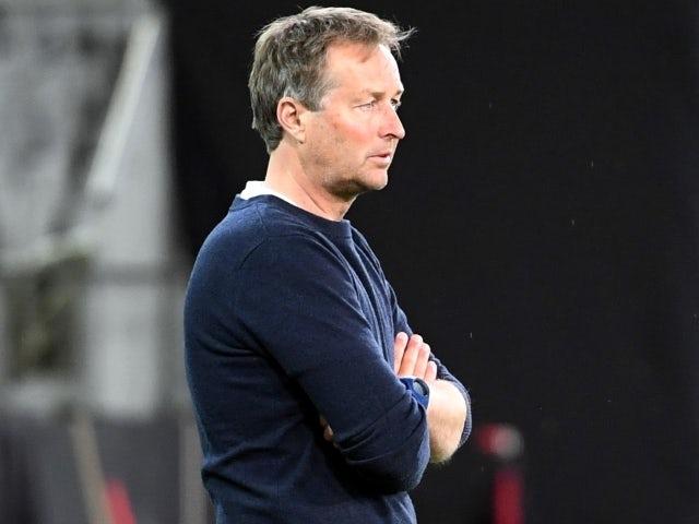 Denmark manager Kasper Hjulmand June 2, 2021