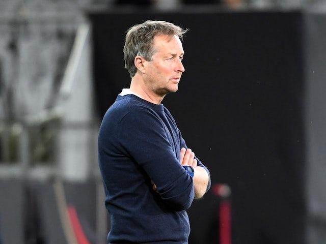 Kasper Hjulmand lets emotion take over following Christian Eriksen collapse