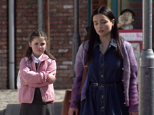 Hope and Alina on the first episode of Coronation Street on June 9, 2021