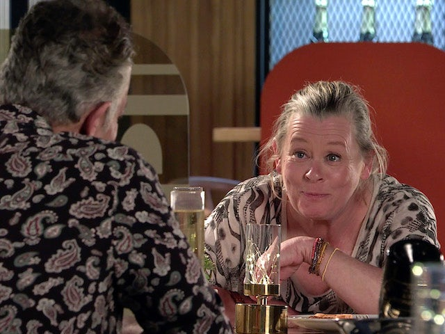 Bernie on the first episode of Coronation Street on June 9, 2021