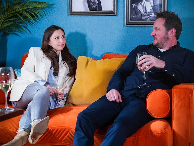 Martin and Ruby on EastEnders on June 8, 2021