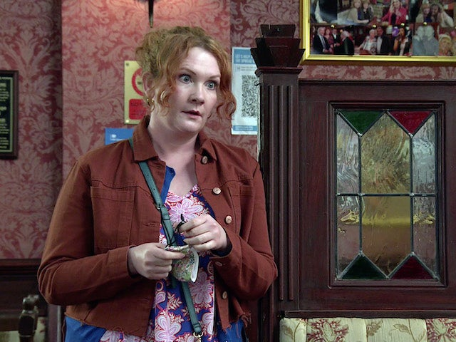 Fiz on the second episode of Coronation Street on June 9, 2021