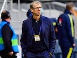 Finland coach Markku Kanerva on May 29, 2021