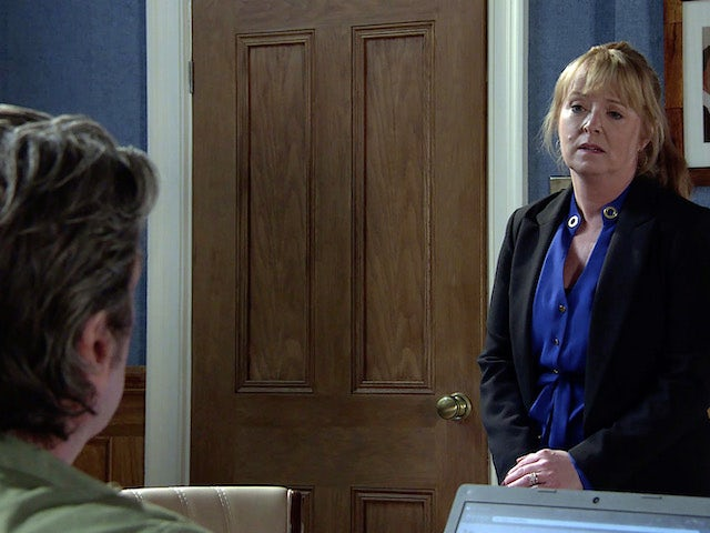 Jenny on the first episode of Coronation Street on June 7, 2021