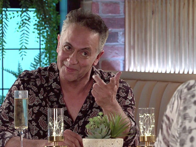 Dev on the first episode of Coronation Street on June 9, 2021
