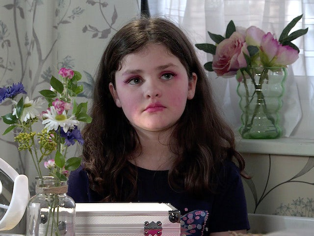Hope on the second episode of Coronation Street on June 7, 2021