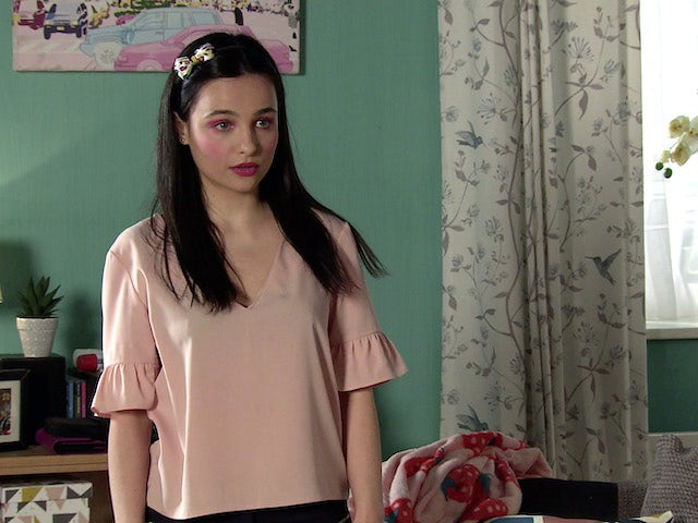 Alina on the second episode of Coronation Street on June 7, 2021