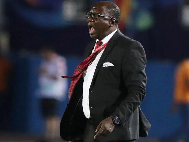 Mali coach Mohamed Magassouba pictured in June, 2019