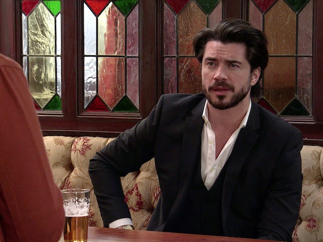 Adam on the second episode of Coronation Street on June 9, 2021