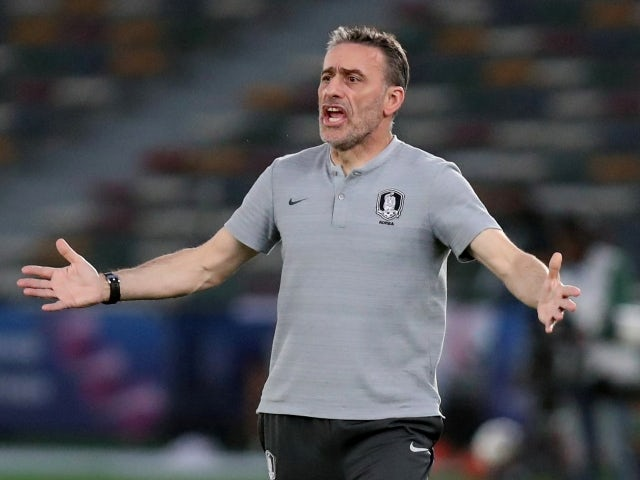 South Korea manager Paulo Bento pictured in 2019