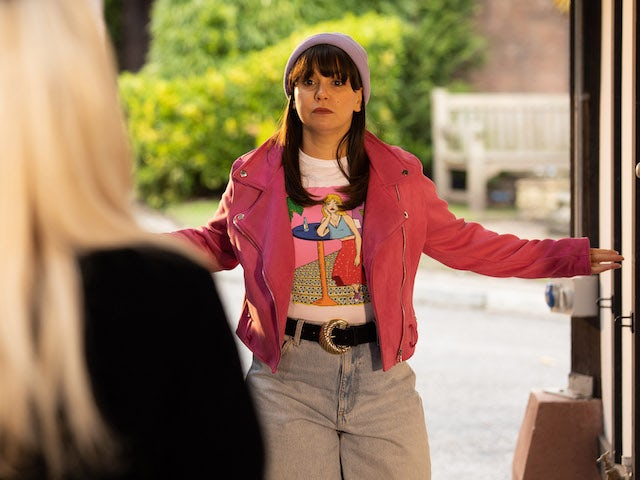 Nancy on Hollyoaks on June 8, 2021