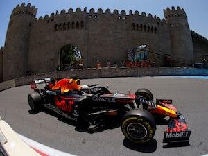 Max Verstappen tops first practice in Azerbaijan