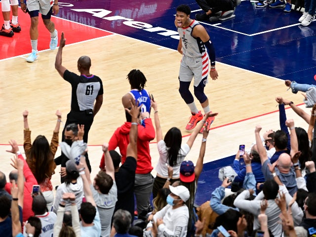 NBA roundup: Wizards restore parity with win over 76ers