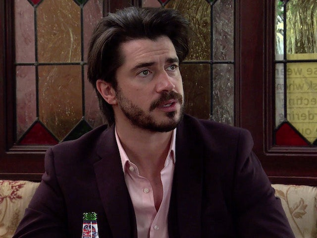 Adam on the first episode of Coronation Street on June 7, 2021