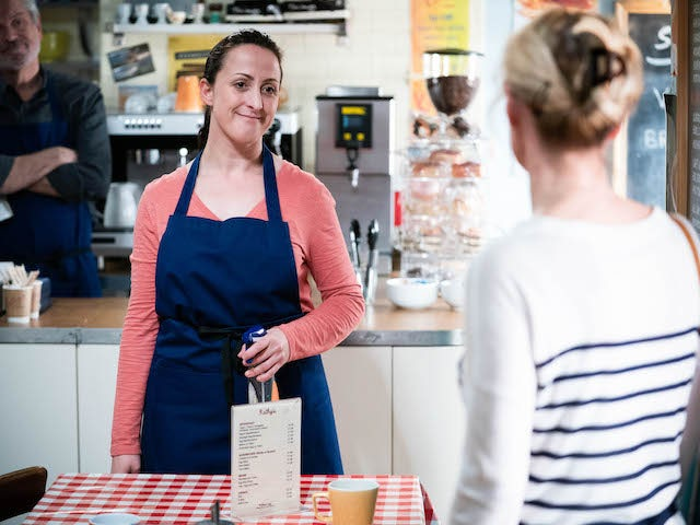 Sonia on the second episode of EastEnders on June 15, 2021