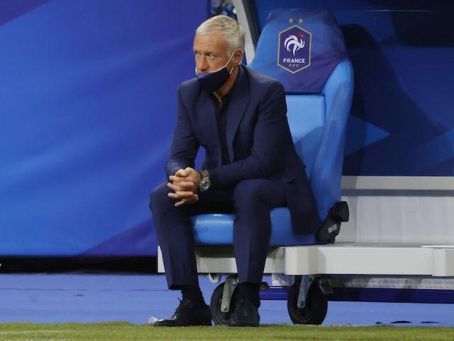 France head coach Didier Deschamps pictured on June 8, 2021
