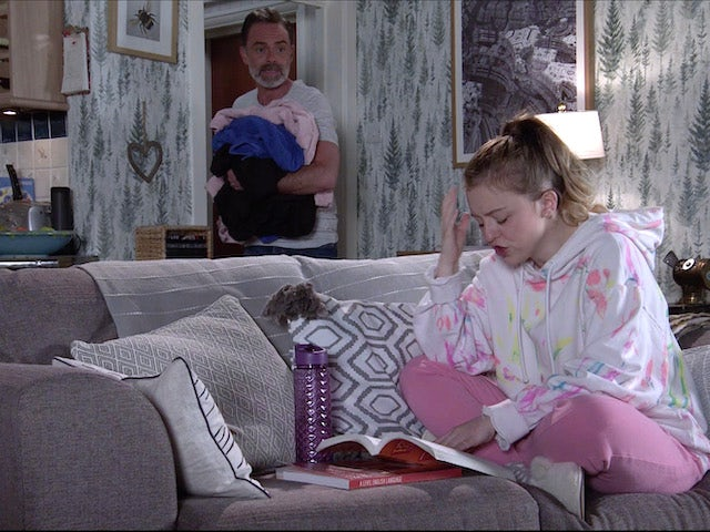 Billy and Summer on Coronation Street on June 17, 2021