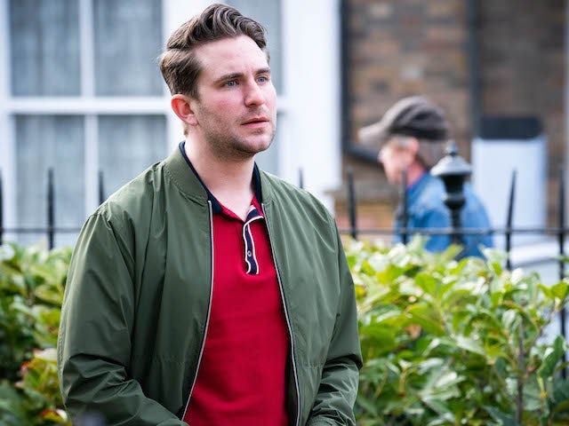 Callum on the first episode of EastEnders on June 16, 2021