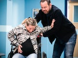 Jeanette and Mick on the first episode of EastEnders on June 15, 2021