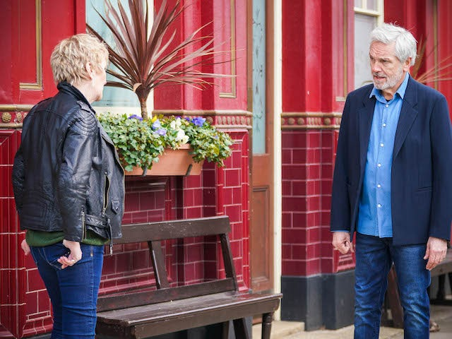 Rocky on the second episode of EastEnders on June 16, 2021