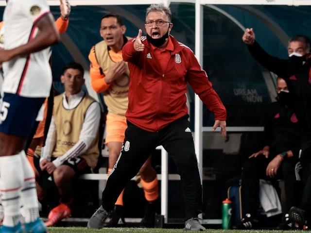 El técnico de México Gerardo Martino el 6 de junio de 2021