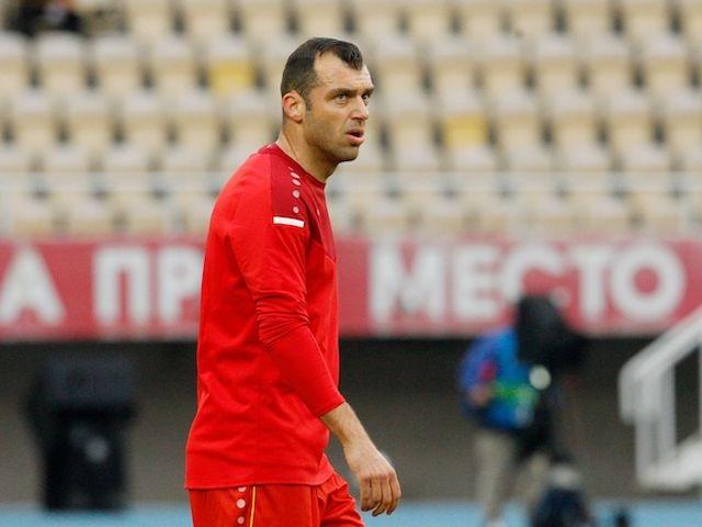 North Macedonia's Goran Pandev pictured on June 1, 2021