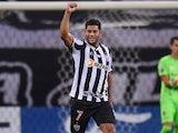 Atletico Mineiro's Hulk celebrates scoring their third goal on May 26, 2021