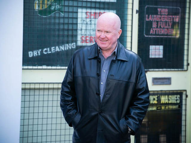 Phil on the second episode of EastEnders on June 16, 2021