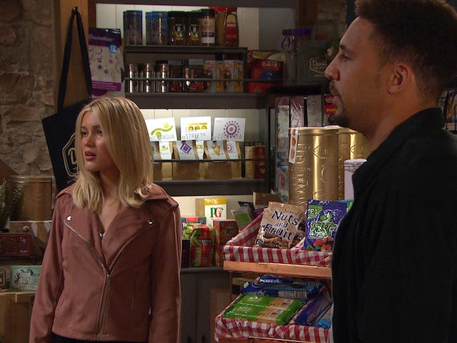 Leanne and Billy on Emmerdale on June 21, 2021