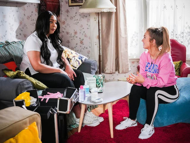 Tiff on the first episode of EastEnders on June 16, 2021