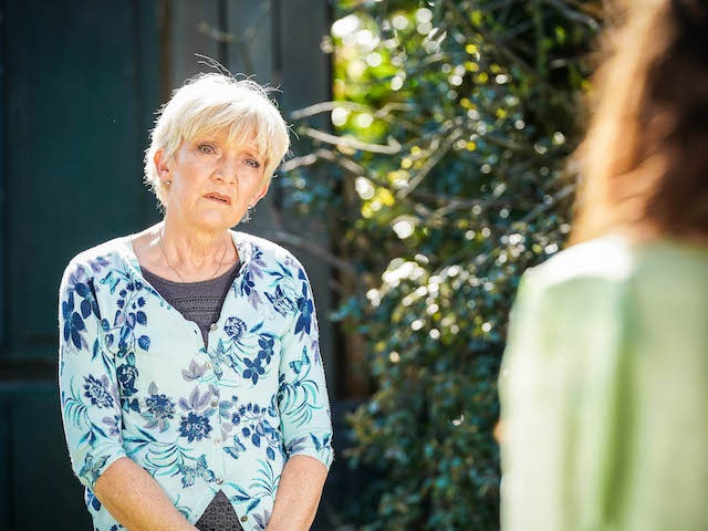 Jean on the first episode of EastEnders on June 16, 2021