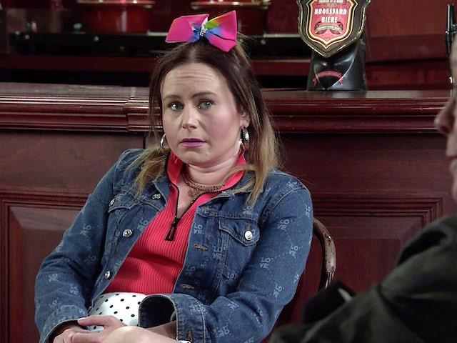 Gemma on Coronation Street on June 20, 2021