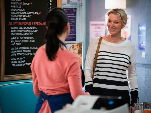 Kathy on the second episode of EastEnders on June 15, 2021