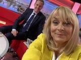 BBC Breakfast's Louise Minchin on June 8, 2021