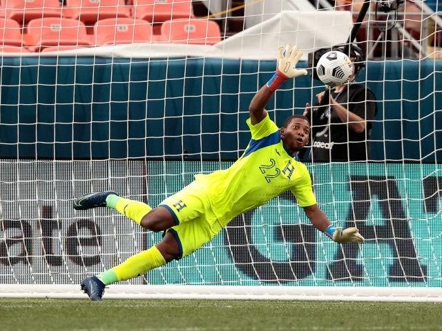 El portero hondureño Luis López salvó un penalti el 7 de junio de 2021