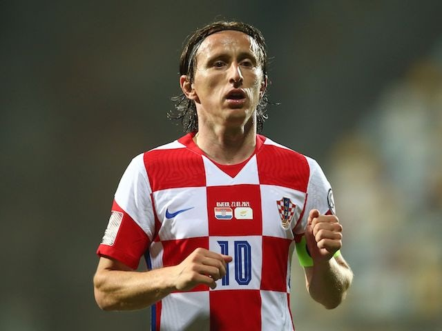 Croatia's Luka Modric pictured in March 2021