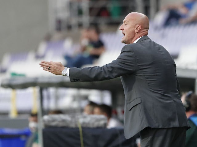 Hungary head coach Marco Rossi pictured on June 8, 2021