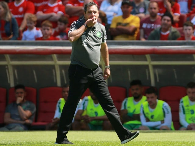 Juventude manager Marquinhos Santos pictured in 2019