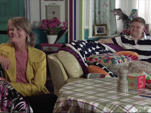 Freda and Chesney on Coronation Street on June 14, 2021