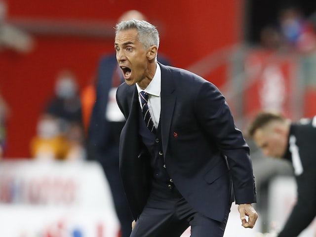 Trener Polski Paulo Sousa 1 czerwca 2021 r.