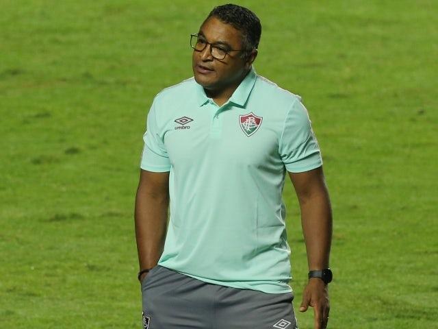 Fluminense manager Roger Machado on May 30, 2021