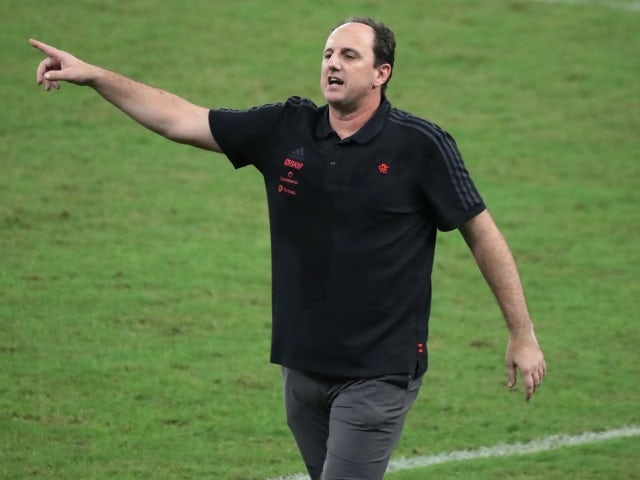 Flamengo manager Rogerio Ceni on May 30, 2021
