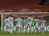 Scotland players celebrate scoring against Netherlands on June 2, 2021