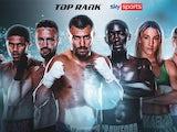Sky Sports partnership with Top Rank