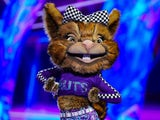 Squirrel performs on the finale of The Masked Dancer UK series one