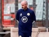 Scotland manager Steve Clarke on June 6, 2021