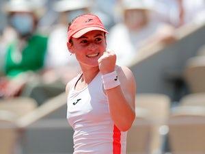 Tamara Zidansek to meet Anastasia Pavlyuchenkova in French Open semi-finals