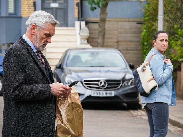 Rocky and Sonia on EastEnders on June 21, 2021