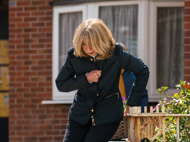 Gail on the first episode of Coronation Street on June 30, 2021